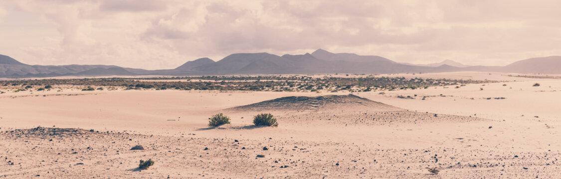 Parque Natural de Corralejo, Fuerteventura, Spanien