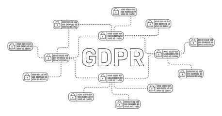 Digital datas protection with GDPR law interface