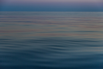 Water surface with small waves