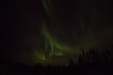 norhern lights in Finland
