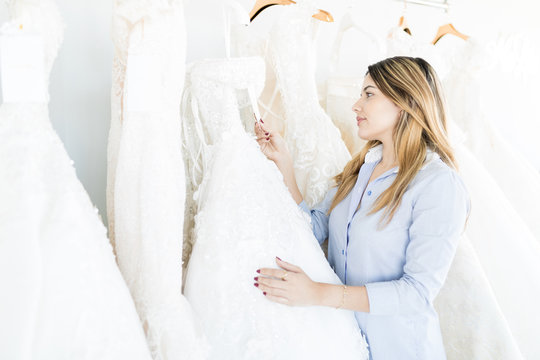 Buyer Looking For A Wedding Dress In Her Budget