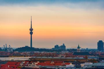 München im Herbst vom Rathausturm