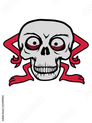 Skelett Totenkopf Schädel Totenschädel Kopf Gesicht Horror