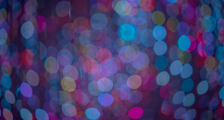 Abstract Light Bokeh Background, using as a background or wallpaper