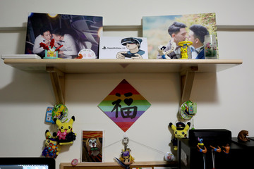 The Wider Image: Taiwan's same-sex marriage vote divides families