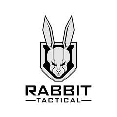 Rabbit tactical logo design