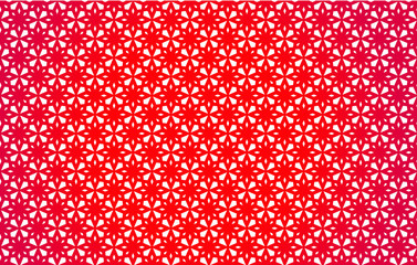 Red Abstract Pattern