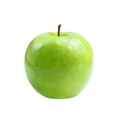 green apple granny smith on white isolated