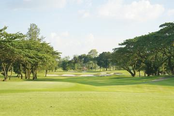 Keuken foto achterwand Lime groen Golfplatz Philipinen