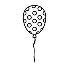 party balloon celebration icon