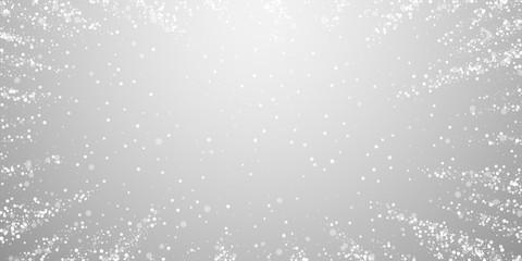 Magic stars sparse Christmas background. Subtle fl