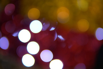 new year Christmas lights Bokeh holiday winter