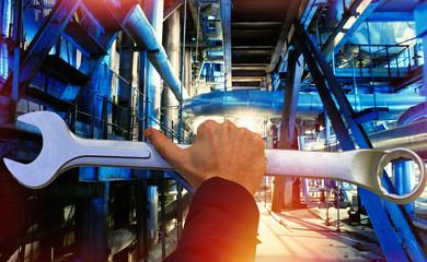 repairing concept of Steel pipelines and equipment