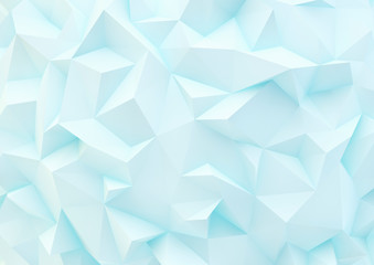 abstract white background with triangles