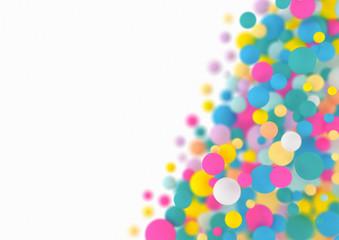 Multi coloured balls