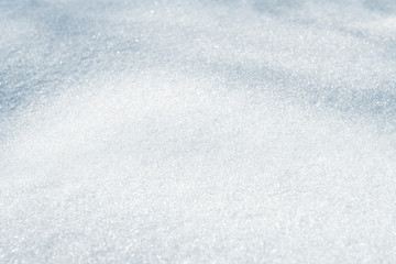 Snow hills for winter or Christmas background