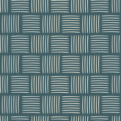 Contemporary square weave