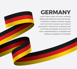 Germany flag for decorative.Vector background