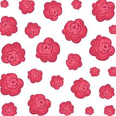 cute flowers decorative pattern