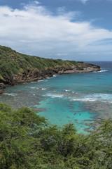 Hanauma Bay in Oahu, Hawaii