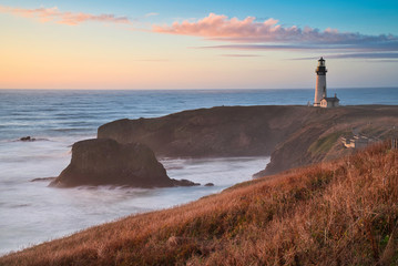 Yaquina Head Lighthouse & Sunset