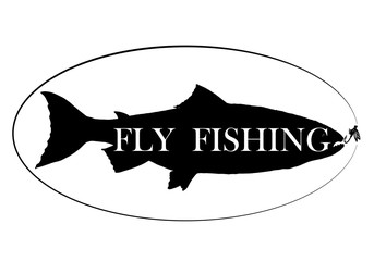 vintage fly fish,drawing animal,vector