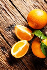 Fresh Italian oranges