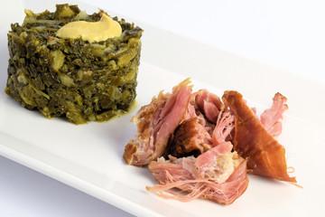 Grünkohl mit Pulled Pork