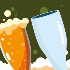 Beer glasses design