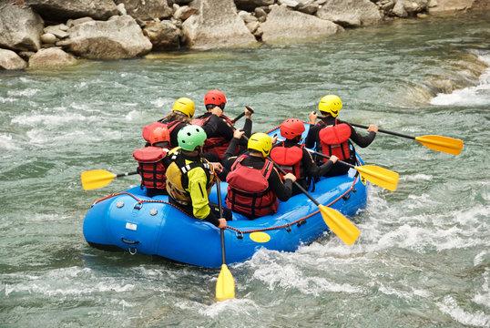 Rafting estremo