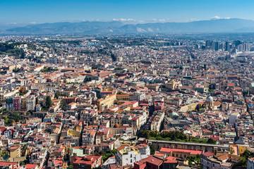 Neapel – Stadtansicht vom Castel Sant'Elmo