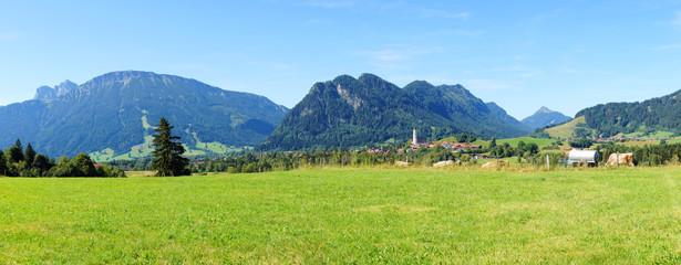 Pfronten Weissbach im Allgäu in der Nähe von Füssen Panorama
