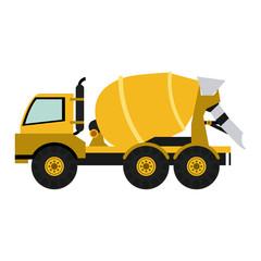 Cemet truck vehicle