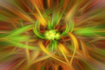 Abstract background with twirl effect. illustration