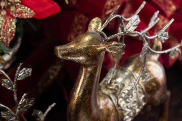 クリスマスの装飾、トナカイの置物