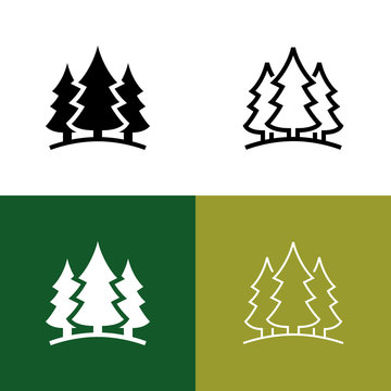 Forest Icon Set