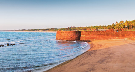 Photo sur Aluminium Fortification Aguada fort, North Goa,India