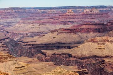 The Grand Canyon in Arizona South Rim