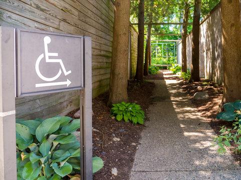ADA Compliance Signs Accessible Handicap Park