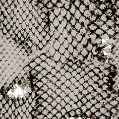 Brown gray snake skin seamless pattern