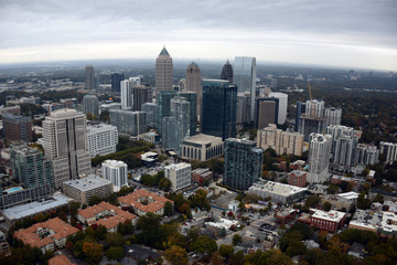 Aerial View of Downtown Atlanta