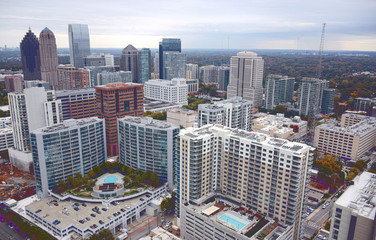 Aerial View of Atlanta GA