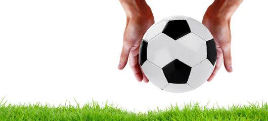 team play football