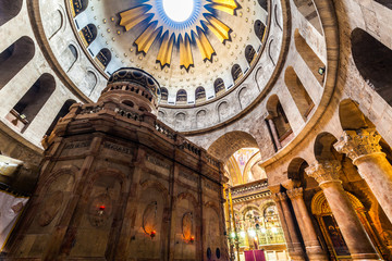 View of church of the Holy Sepulchre