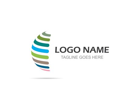 Globe Business vector logo template