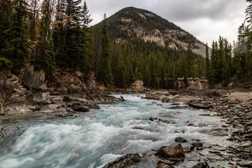 Kicking Horse river rampages through the park, Yoho National Park, British Columbia, Canada