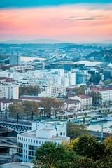 Vue sur la ville de Lyon