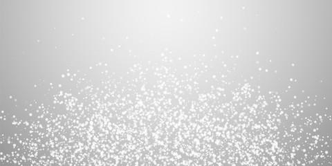 Amazing falling snow Christmas background. Subtle