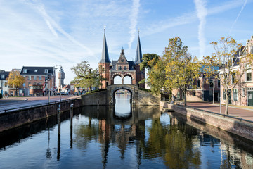 Waterpoort in Sneek, the Netherlands Fototapete
