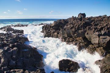 Canary Island sea